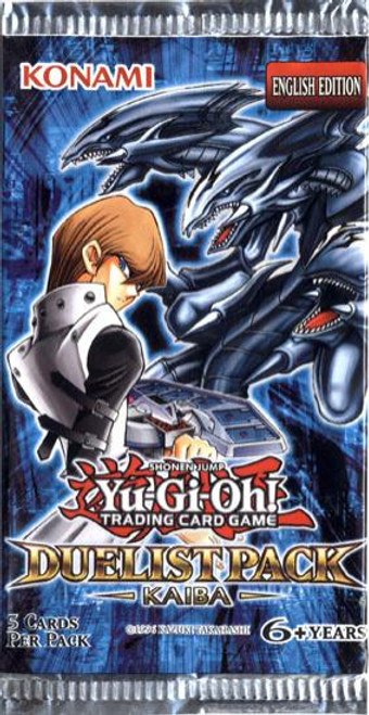 YuGiOh Trading Card Game Duelist Pack Kaiba Booster Pack [5 Cards]