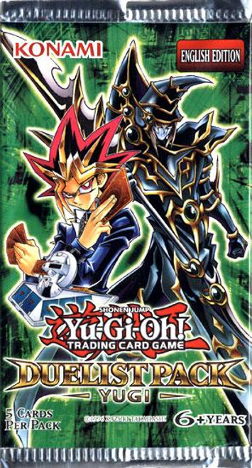 YuGiOh Trading Card Game Duelist Pack: Yugi Booster Pack [5 Cards]