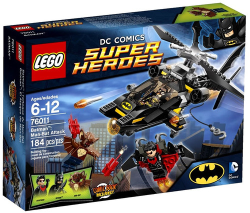 LEGO DC Universe Super Heroes Batman: Man-Bat Attack Set #76011