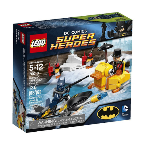 LEGO DC Universe Super Heroes Batman: The Penguin Face Off Set #76010