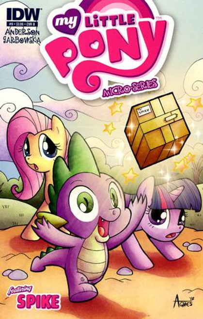 My Little Pony Micro-Series #9 Featuring Spike Comic Book [Cover B]