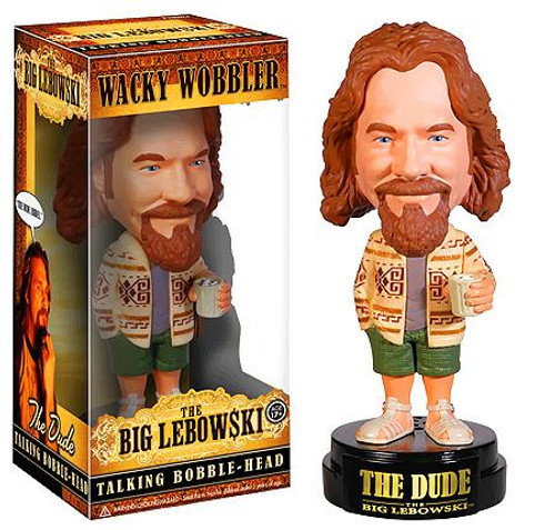 Funko The Big Lebowski Wacky Wobbler The Dude Talking Bobble Head
