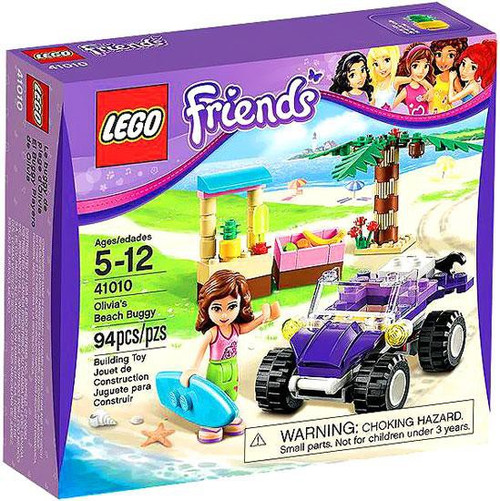 LEGO Friends Olivia's Beach Buggy Set #41010