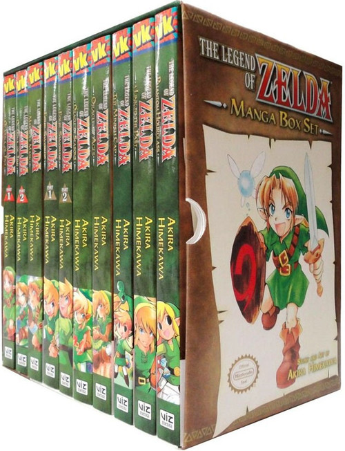 The Legend of Zelda Manga Boxed Set [Volumes 1-10]