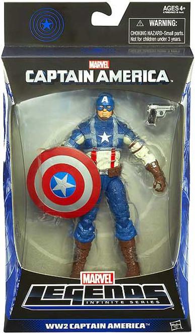 Marvel Legends Mandroid Series 1 WW2 Captain America Action Figure