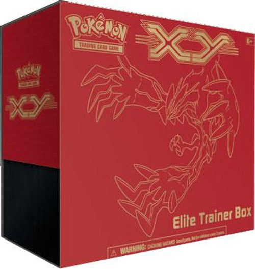 Pokemon Trading Card Game XY Yveltal Elite Trainer Box [8 Booster Packs, 65 Card Sleeves, 45 Energy Cards & More]