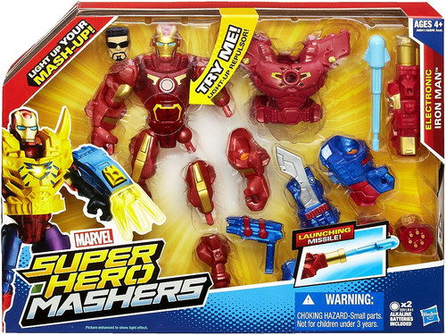Marvel Super Hero Mashers Iron Man (Electronic) Action Figure