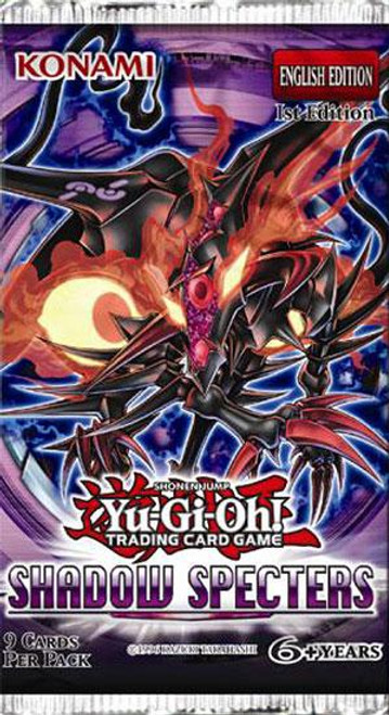 YuGiOh Trading Card Game Shadow Specters Booster Pack