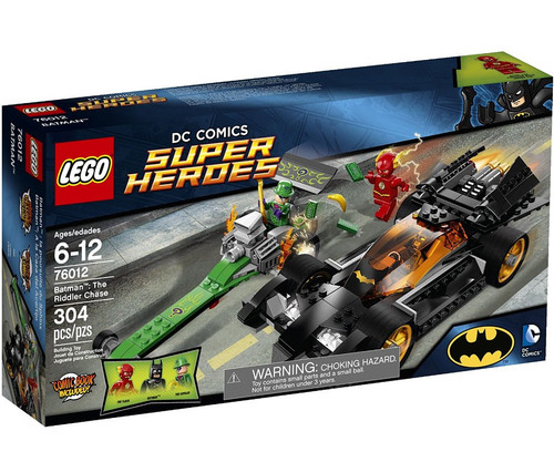 LEGO DC Universe Super Heroes Batman: The Riddler Chase Set #76012