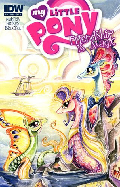 My Little Pony Friendship is Magic #14 Comic Book [Cover B]