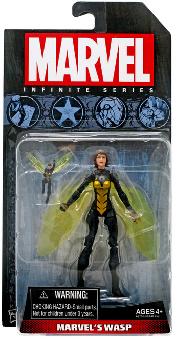 Marvel Avengers Infinite Series 1 Wasp Action Figure