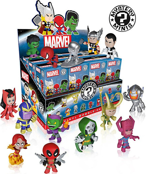 Funko Mystery Minis Marvel Series 1 Mystery Box [24 Packs]