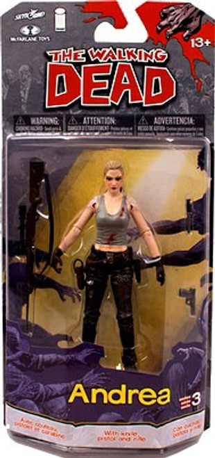 McFarlane Toys The Walking Dead Comic Series 3 Andrea Action Figure