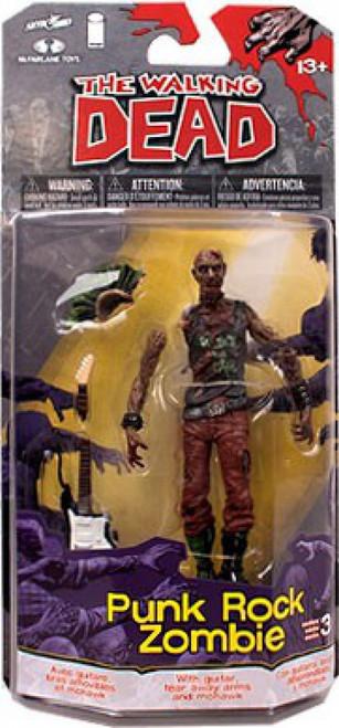 McFarlane Toys The Walking Dead Comic Series 3 Punk Rock Zombie Action Figure