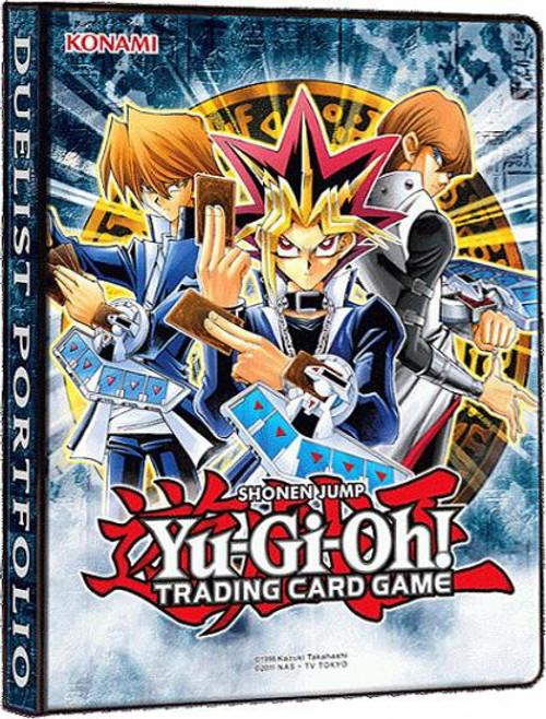 YuGiOh Trading Card Game Card Supplies Duelist Portfolio 4-Pocket Binder [Version 2]