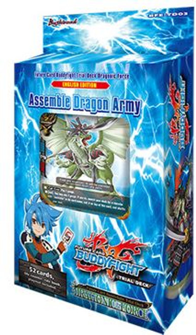 Future Card BuddyFight Trading Card Game Dragonic Force Trial Deck BFE-TD03