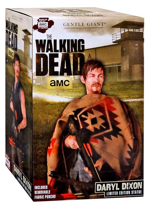 The Walking Dead AMC TV Daryl Dixon Statue