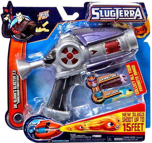 Slugterra Blaster & Evo Dart Dr. Blakk's Blaster 2.0 Roleplay Toy [Entry, Harbinger Firestorm]
