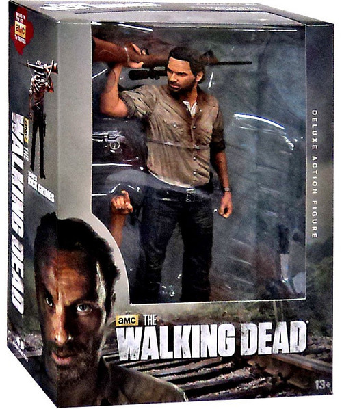 McFarlane Toys The Walking Dead AMC TV Rick Grimes Deluxe Action Figure