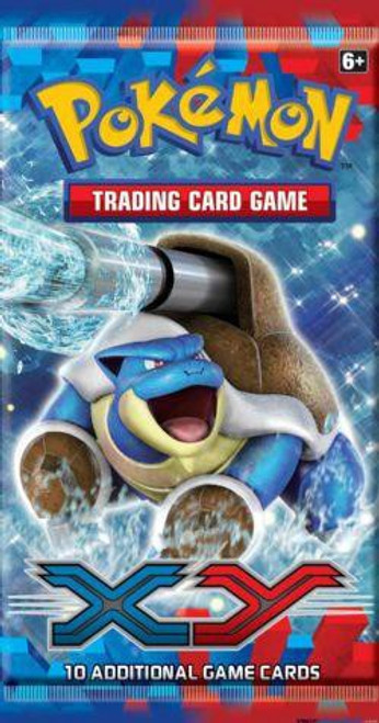 Pokemon Trading Card Game XY Base Set Booster Pack [10 Cards]