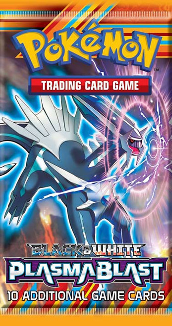 Pokemon Trading Card Game Black & White Plasma Blast Booster Pack [10 Cards]