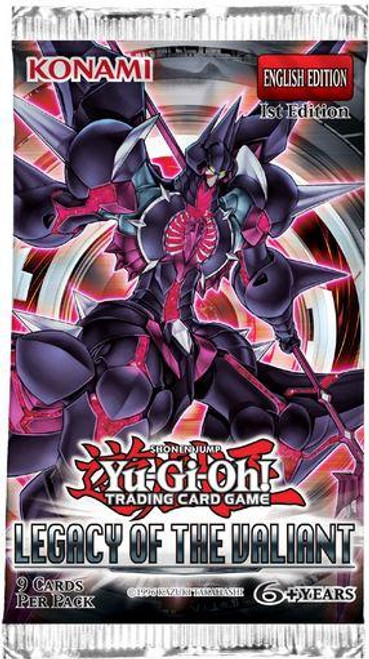 YuGiOh Trading Card Game Legacy of the Valiant Booster Pack [9 Cards]