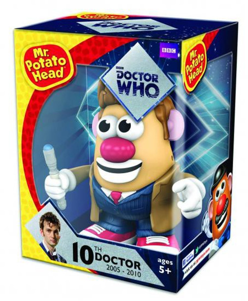 Doctor Who 10th Doctor Mr. Potato Head