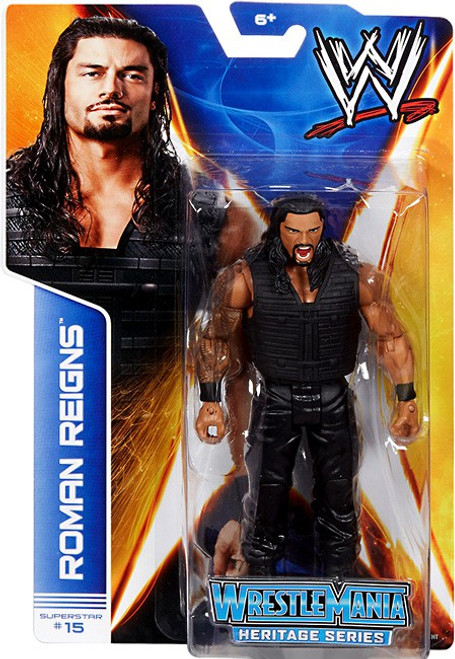 WWE Wrestling Series 37 Roman Reigns {The Shield!} Action Figure #15