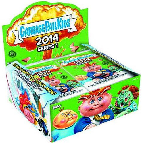 Garbage Pail Kids Topps 2014 Series 1 Trading Card RETAIL Box [24 Packs]