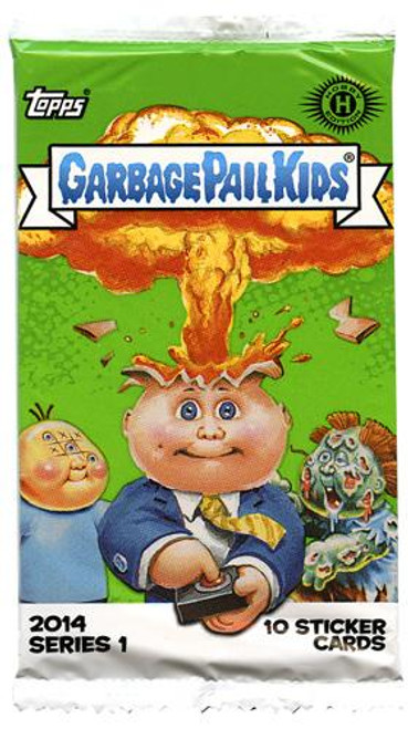 Garbage Pail Kids Topps 2014 Series 1 Trading Card HOBBY Pack [10 Cards]
