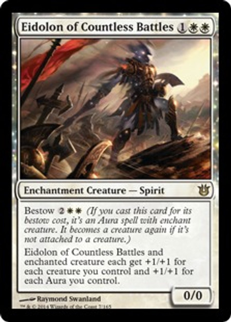 MtG Born of the Gods Rare Eidolon of Countless Battles #7