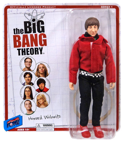 The Big Bang Theory Retro Style Howard Action Figure