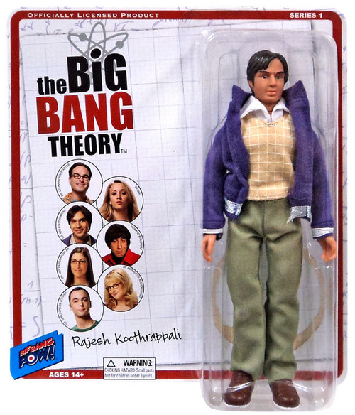 The Big Bang Theory Retro Style Raj Action Figure