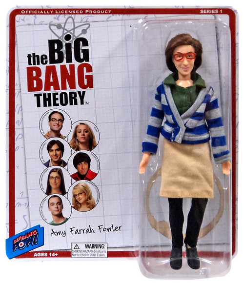 The Big Bang Theory Retro Style Amy Farrah Fowler Action Figure