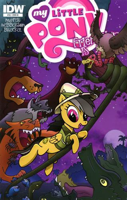 My Little Pony Friendship is Magic #16 Comic Book [Retailer Incentive]