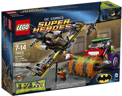 LEGO DC Universe Super Heroes Batman: The Joker Steam Roller Set #76013