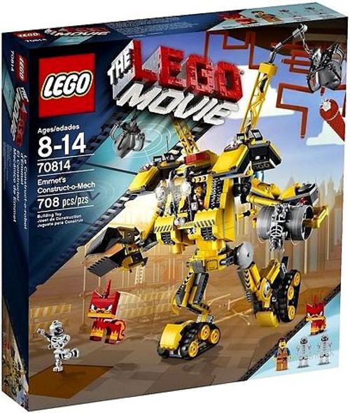 The LEGO Movie Emmet's Constructo-Mech Set #70814