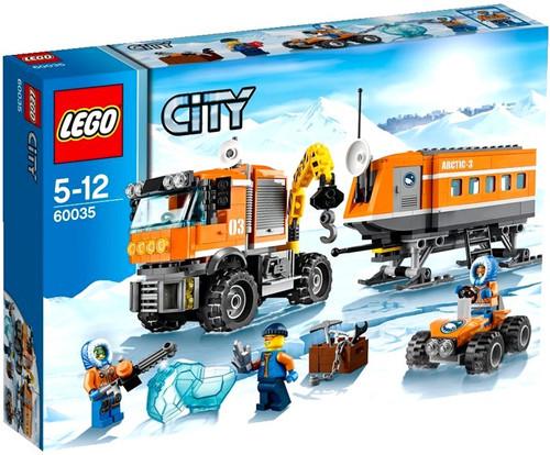LEGO City Arctic Outpost Set #60035