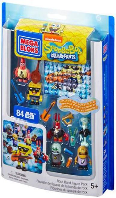 Mega Bloks Spongebob Squarepants SpongeBob Collecitble Figure Pack Set #94619