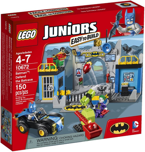LEGO Juniors Batman: Defend the Batcave Set #10672