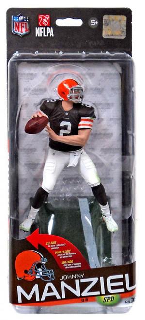 McFarlane Toys NFL Cleveland Browns Sports Picks Series 35 Johnny Manziel Action Figure