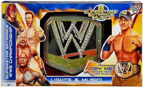 WWE Wrestling Superstar Entrance Championship Kids Replica Belt