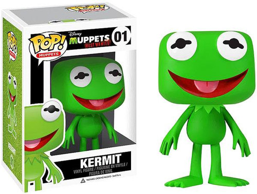 Funko The Muppets Muppets Most Wanted POP! TV Kermit Vinyl Figure #01