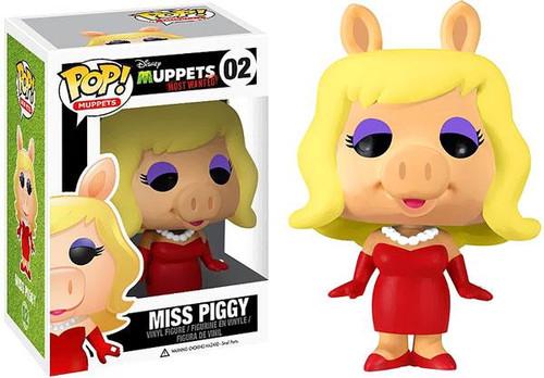 Funko The Muppets Muppets Most Wanted POP! TV Miss Piggy Vinyl Figure #02