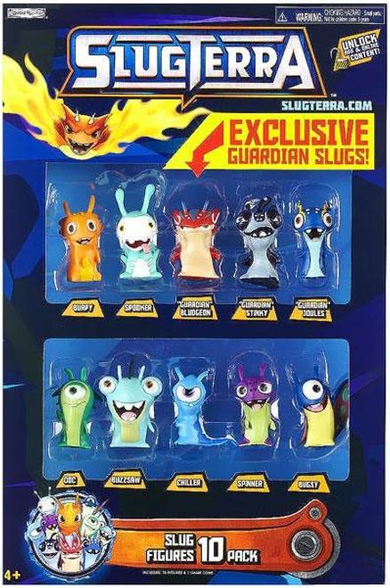Slugterra Slug Figures 10-Pack Exclusive [Exclusive Guardian Slug!]
