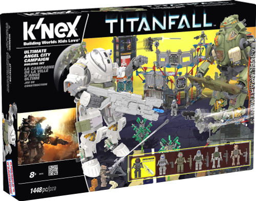 K'NEX Titanfall Ultimate Angel City Campaign Set #69500