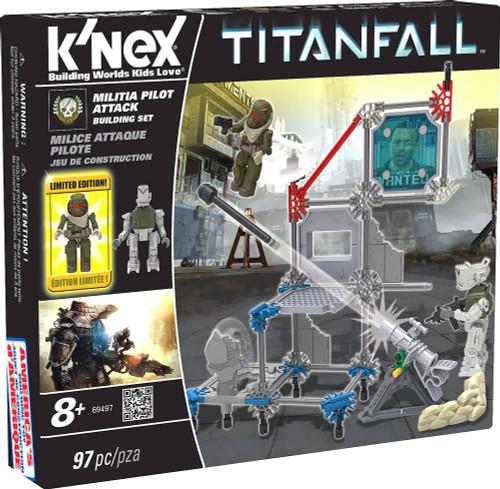 K'NEX Titanfall MILITIA Pilot Attack Set #69497