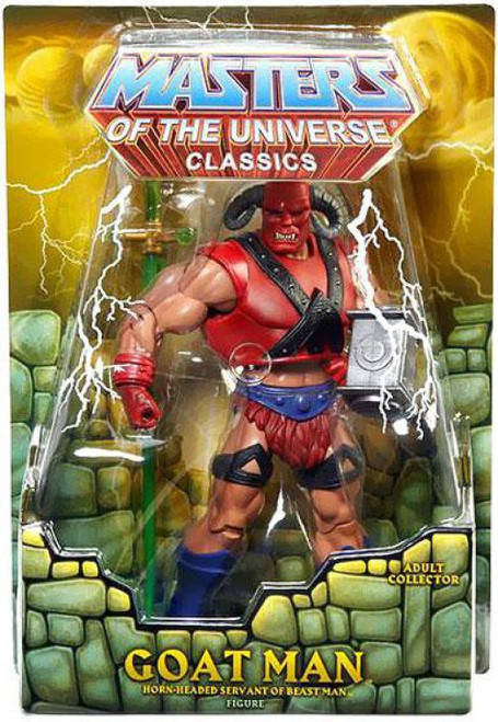 Masters of the Universe Classics Club Eternia Goat Man Exclusive Action Figure