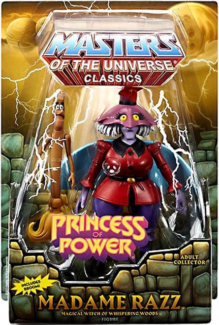 Masters of the Universe Classics Club Eternia Madame Razz Exclusive Action Figure [Princess of Power]