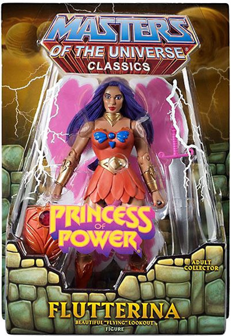Masters of the Universe Classics Club Eternia Flutterina Exclusive Action Figure [Princess of Power]